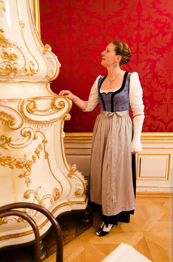 Австрийский национальный женский костюм — трахт