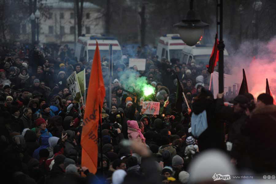 Митинг наБолотной площади. © Антон Белицкий/Ridus.ru