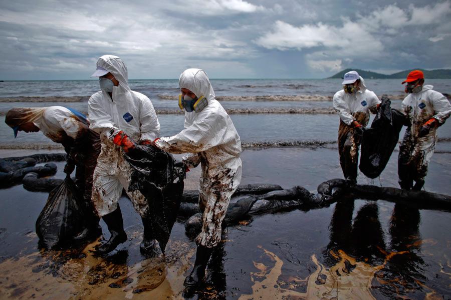 Картинки загрязнения водоемов нефтью