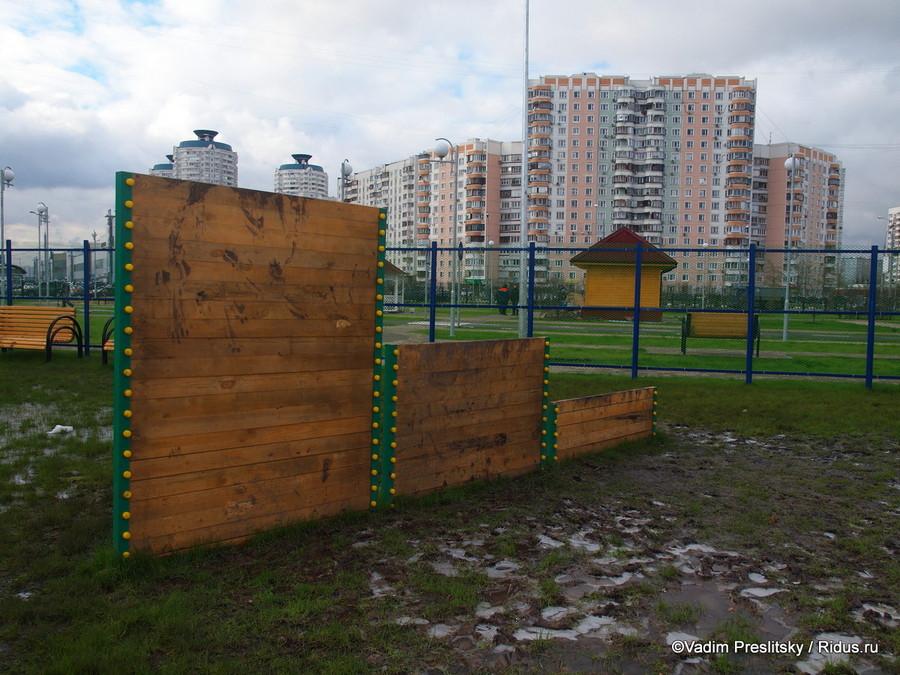Парк им. Артёма Боровика после реконструкции. Москва. © Vadim Preslitsky