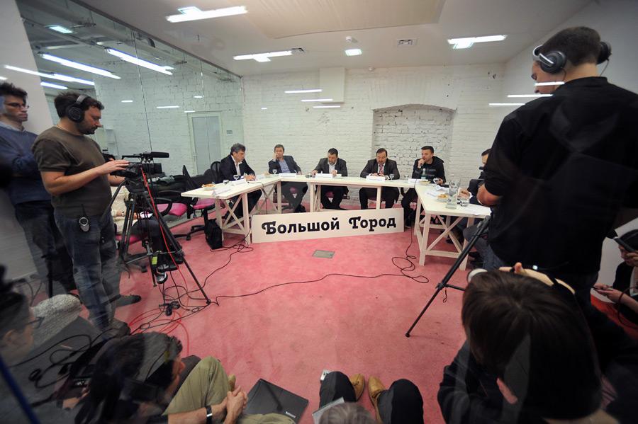 Заседание оргкомитета митинга 24декабря. © Владимир Песня/РИА Новости