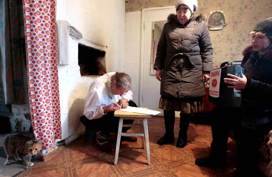 фото день выборов в селе эту категорию