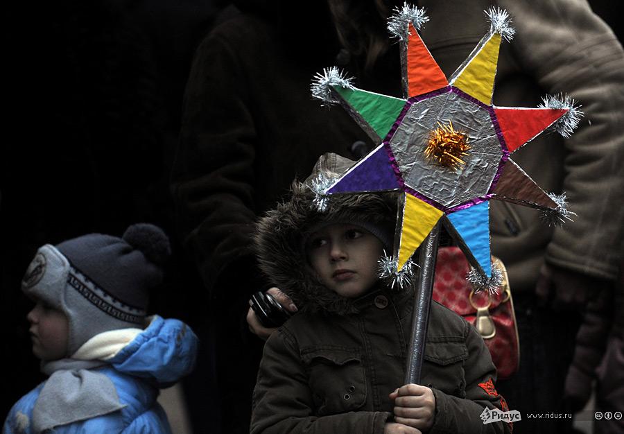 Рождественские гуляния воЛьвове. © Василий Максимов/Rudus.ru