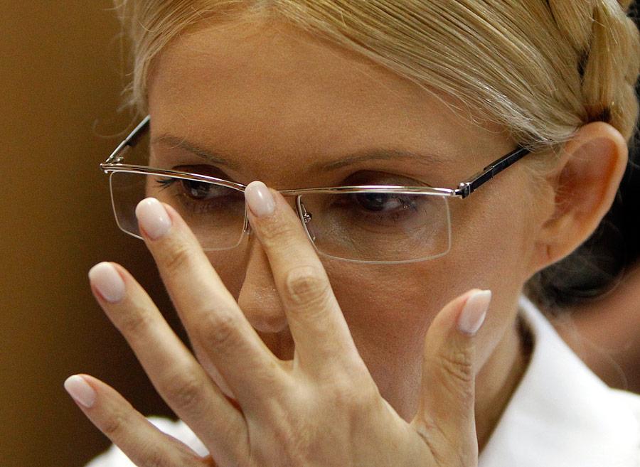 Юлия Тимошенко взале суда. © Глеб Гаранич/Reuters