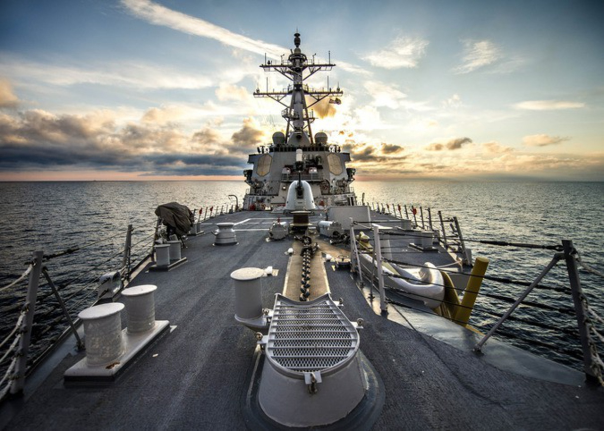 © © Commander, U.S. Naval Forces Europe-Africa/U.S. 6th Fleet//flickr.com (CC BY ND 2.0)