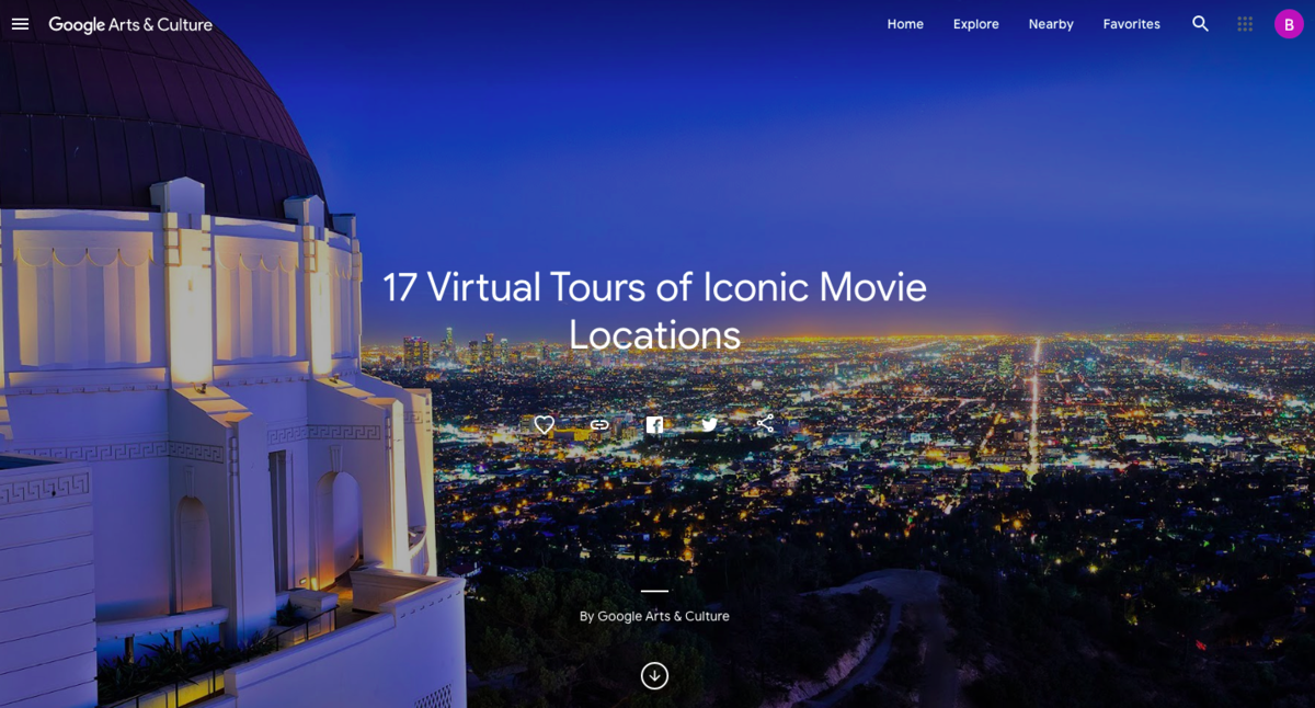 17 Virtual tours of iconic movie locations