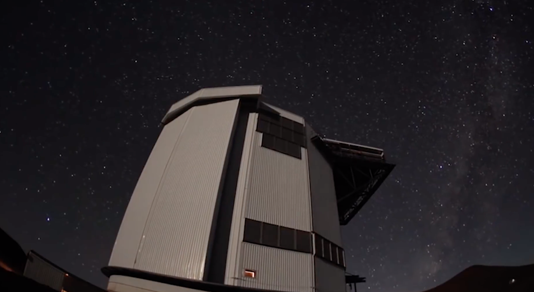 Телескоп JCMT (James Clerk Maxwell Telescope)