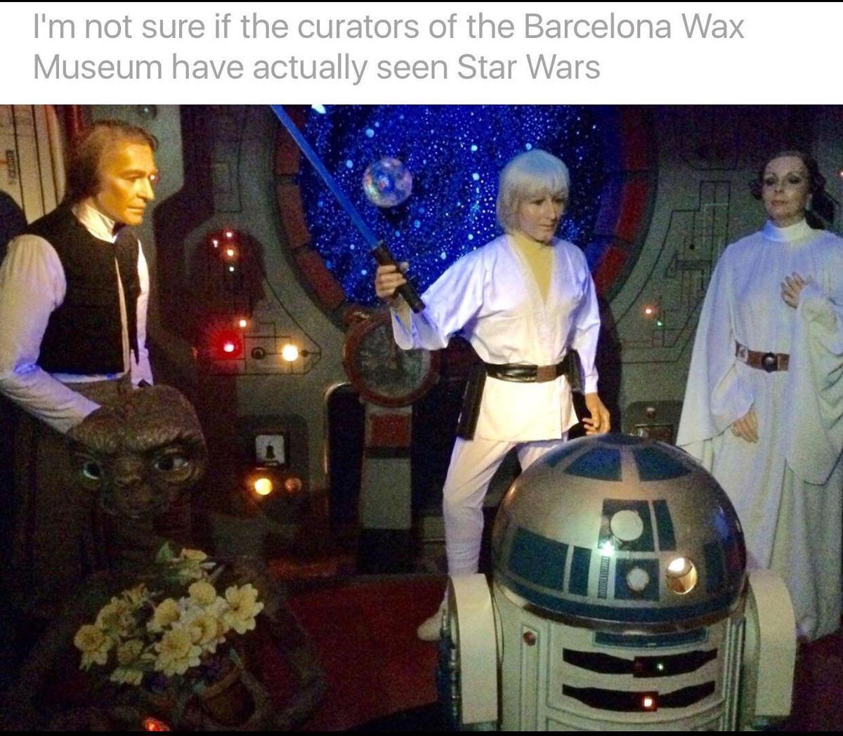 Я не уверен, что куратор Барселонского музея восковых фигру смотрел фильм