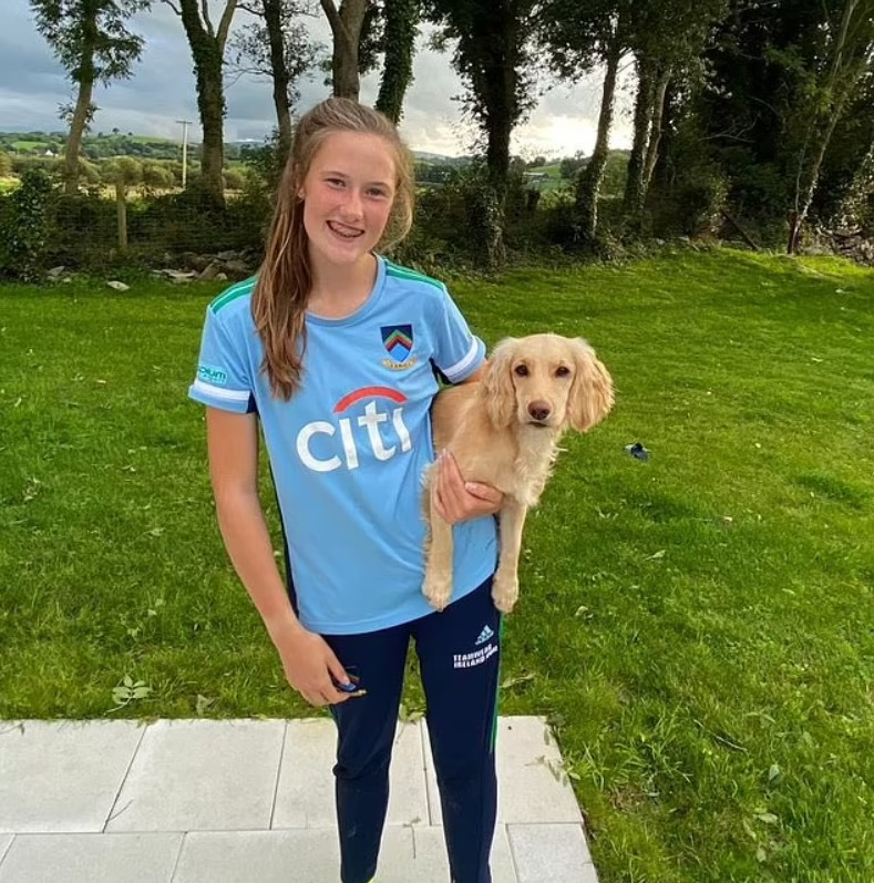 A 16-year-old Dazzle owner named Aoife Fischer was one of the players.
